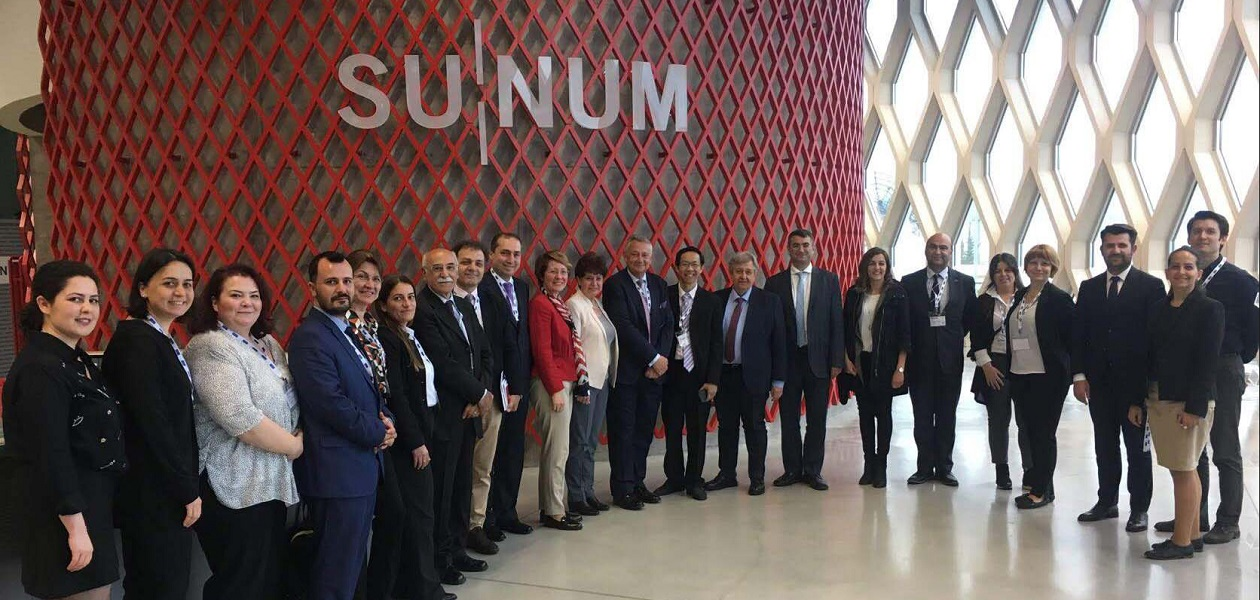 "Delegate and speakers attended the two-day workshop on ""Innovative Interface Structures Platform"" held at Sabanci University Nanotechnology Research and Application Center (SUNUM)."